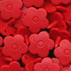 KAM Snaps Plastic Fasteners Flower Flowers Shapes Size 20 Sets B38 Red