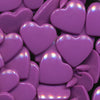 KAM Plastic Snaps Heart Shape Hearts Shapes Size 20 Sets B41 Violet