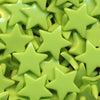 KAM Plastic Snaps Star Shape Stars Shapes Size 20 Sets B44 Apple Green