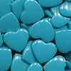 KAM Plastic Snaps Heart Shape Hearts Shapes Size 20 Sets B46 Teal