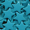 KAM Plastic Snaps Star Shaped Stars Shapes Size 20 Sets B46 Teal