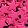 KAM Plastic Snaps Star Shaped Stars Shapes Size 20 Sets B47 Neon Pink