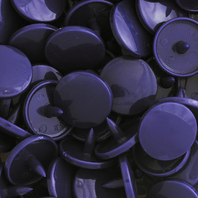 KAM Snap Fasteners Size T5 Parts Caps Sockets Studs B49 Dark Purple