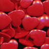 KAM Plastic Fasteners Snaps Heart Shape Hearts Shapes B54 Crimson