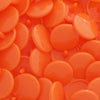 KAM Plastic Snaps Size 20 Extra Long Prong Snap Fasteners B55 Orange