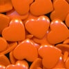 KAM Plastic Snaps Heart Shape Hearts Shapes Size 20 Sets B55 Orange