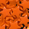 KAM Plastic Snaps Star Shaped Stars Shapes Size 20 Sets B55 Orange