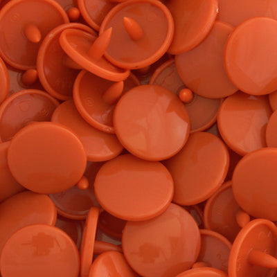 KAM Plastic Snaps Button Snap Fasteners Size 20 Sets D306 Rusty