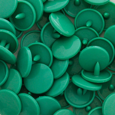 KAM Plastic Snaps Button Snap Fasteners Size 20 Sets D309 Emerald