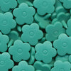 KAM Plastic Snaps Flower Flowers Shapes Size 20 D311 Turquoise Flowers