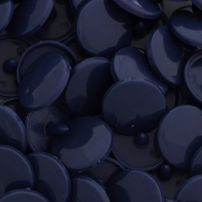 KAM Plastic Snaps Button Snap Fasteners Size 20 Sets D313 Smoky Navy