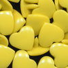 KAM Plastic Snaps Heart Shape Hearts Shapes Size 20/T5 D322 Lemon Zest