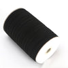 "1/4"" Elastic Roll - Black - FINAL SALE"