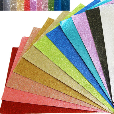 Glitter Embroidery Vinyl (Soft Backing) - FINAL SALE