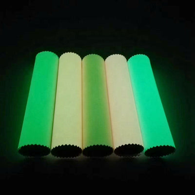 Glow-in-the Dark Vinyl Roll - WHITE