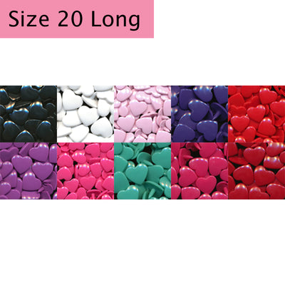 Hearts Multi-Color Pack (Extra Long)