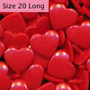 Hearts B38 Red (Long)