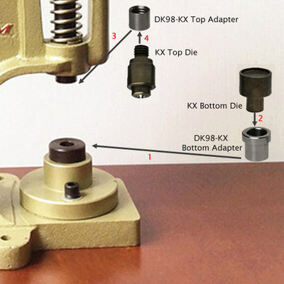 DK98-KX Adapter Set (for Old Model Table Press)