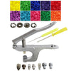 KAM Snaps KX8J Starter Snap Press Kit - Plastic Snaps, Metal Snaps, Snap Removal