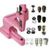 PINK KAMsnaps DK93 Combo Press Bundle - Plastic Snaps, Ring Metal Snaps, Grommets, Rivets