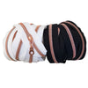 ROSE GOLD Coil Nylon Zippers