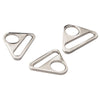 "1"" Triangle Rings - Silver"