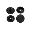KAM Plastic Snap Buttons Small Size 14 Extra Long B5 Black