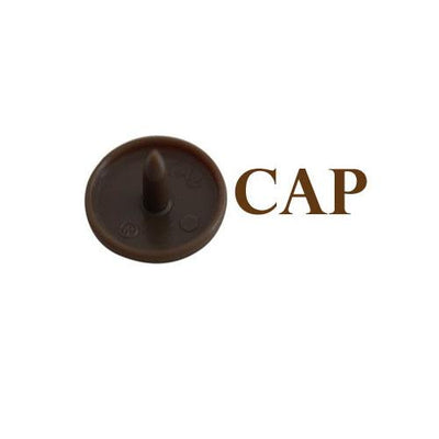 KAM Snap Fasteners Size 20 Individual Caps Sockets Studs