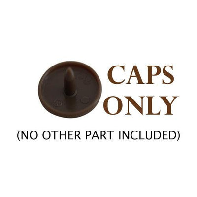 KAM Snap Fasteners Size T5 Individual Caps Sockets Studs
