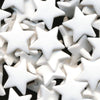 KAM Plastic Snaps Star Shaped Stars Shapes Size 20 Sets B3 White Stars