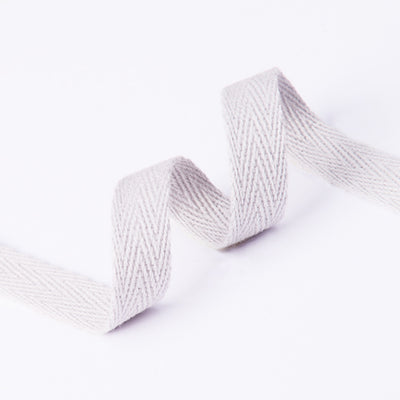 "1/4"" Twill Tape (for Mask Ties) - White"