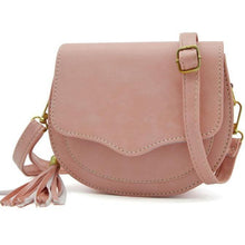 Simple Preppy Handbag - Suede Circle Handbag - Soft Leather Circle Handbag with Tassel *BEAUTIFUL ELEGANT COLOR OPTIONS