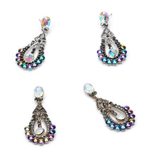 Unicorn Earrings - Changing Color Stones