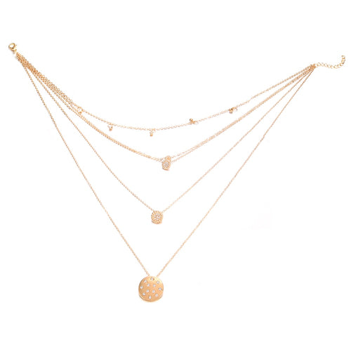 Hot Miami Shades Long Round Tassel Pendant
