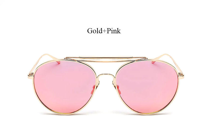 Oversized Aviators - Mirrored and Clear - 9 Color Options – Hot ...