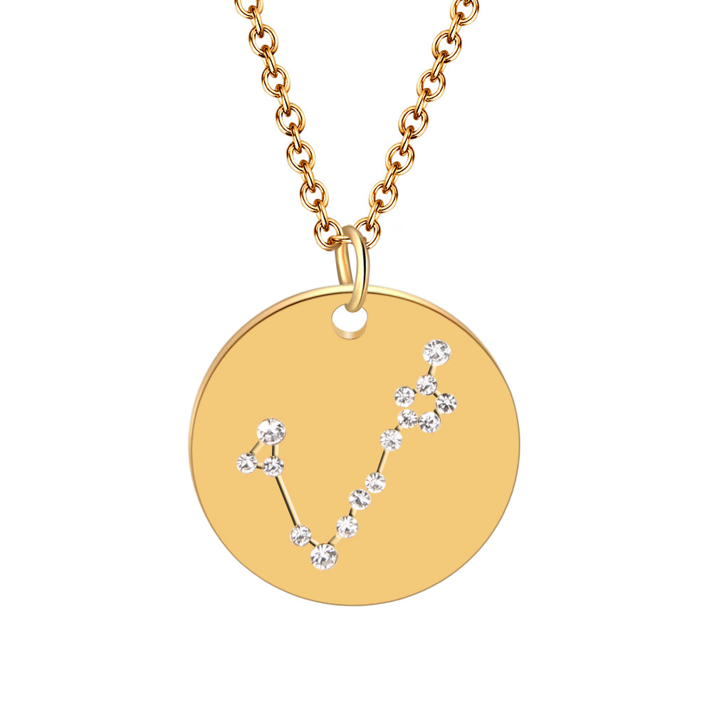 Hot Miami Shades Constellation Jewelry Stainless Necklace