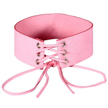Tie Up Choker - 6 Color Options