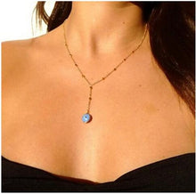 Hot Miami Shades Evil Eye Long Necklace