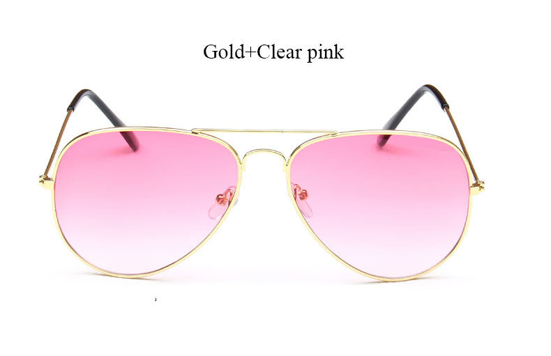Miami Shades Aviators - Classic Style Clear Pink