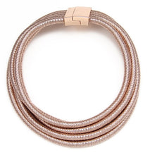 Classic Rope Choker - Choose Width - Rose Gold Rope Choker - Gold Rope Choker - Black Rope Choker