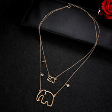 Hot Miami Shades  Elephant Pendant Necklaces For Women
