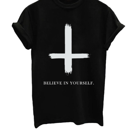 Believe in Yourself - Black, White or Gray