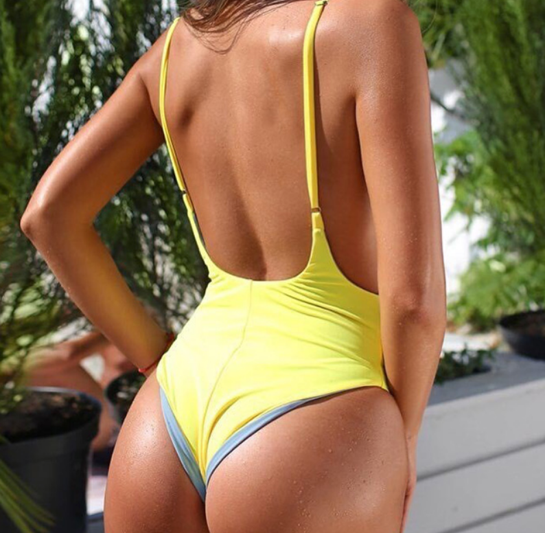 Reversible One Piece SO SOFT Swimwear - Made from Spandex for ultra stretch and comfort