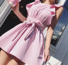 The Multi Style Perfect Pink Dress - Wear it with ruffled sleeves, off the shoulder & more