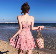 Chiffon Beach Dress - White or Blush Pink - The perfect airy beach dress