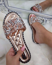 Hot Miami Shades Ladies Sequin Slipper