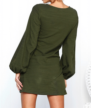 Hot Miami Shades High Waist & Long Sleeved Dress