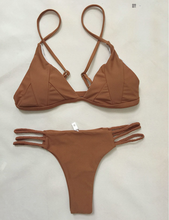 Hot Miami Shades Solid Colour Bikini