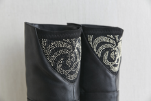 Hot Miami Shades Rhinestone Detailled Over The Knee Boots
