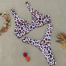 Hot Miami Shades Leopard Print Swimsuit Bikini